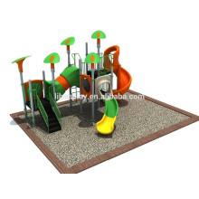 Professional Manufacturer Plastic Slide Children Outdoor Playground Set